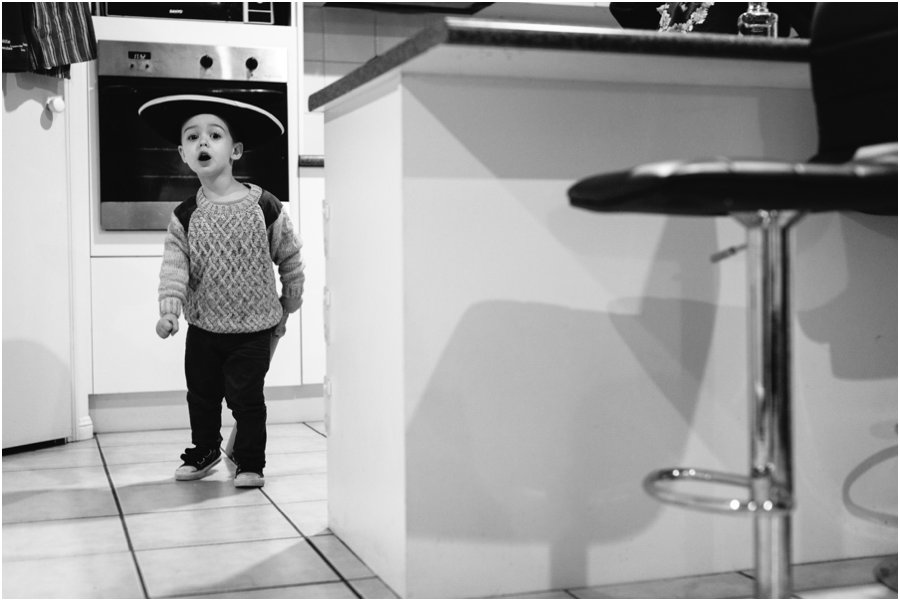 Oscar in the kitchen _ LJM Photography Ladladybaby family portraits Documentary photographer